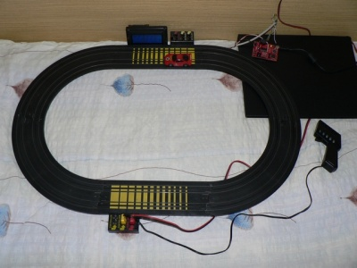 contatore slot car