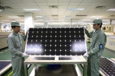 Pannelli solari prodotti in Cina