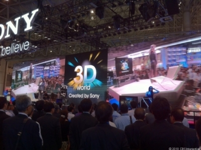 display 3D hd led sony