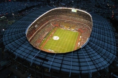 stadio sudafrica illuminato a led