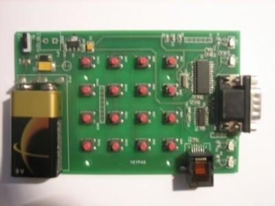 Tastiera 16 Tasti RS232
