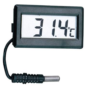 Termometro digitale usando PIC16F84A - schema elettrico