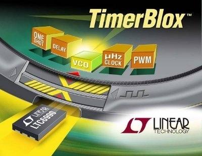 TimerBlox - dispositivi SOT23 per soluzioni di timing semplici della Linear Technology