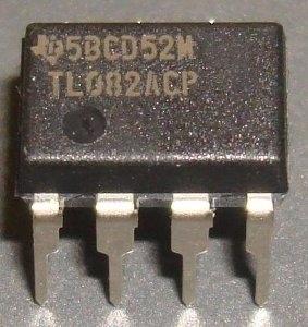 TL082 datasheet - l'amplificatore operativo doppio JFET