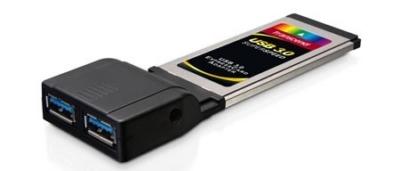 Adattatore ExpressCard 2 porte USB 3.0