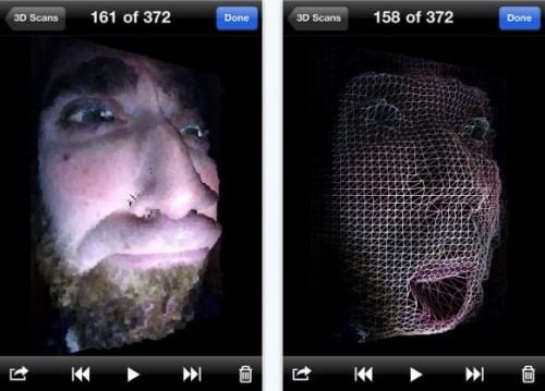 Trasformare l'iPhone in uno scanner tridimensionale