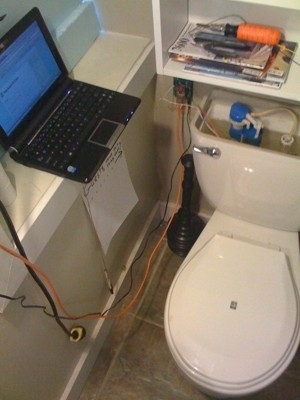 twitter toilet