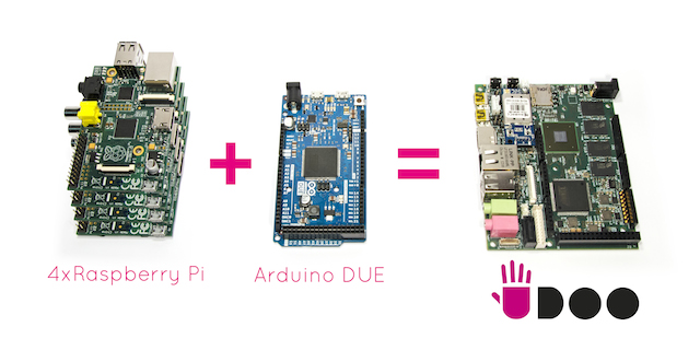 Arduino più Raspberry Pi uguale UDOO