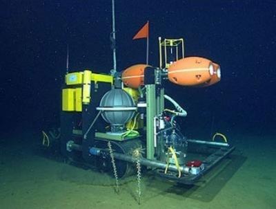 robot per le profondità marine