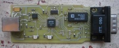 USB2Usart convertitore seriale