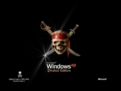 Windows XP Pirated Edition