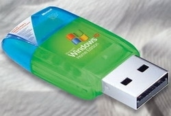 Windows XP via USB