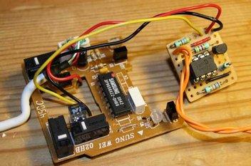 auto-fire con pic10f200 per mouse usb